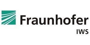 Fraunhofer IWS green logo and black text