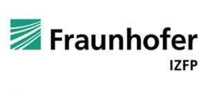 Fraunhofer IZFP green logo and black text.