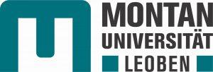 Montanuniversität Loeben MUL logo in blue and black text.
